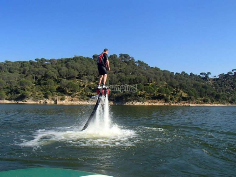 Flyboard flight