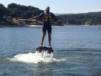 Sesion con flyboard