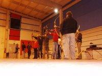 Entrenamientos en el Pabellón de Porto Cabeiro