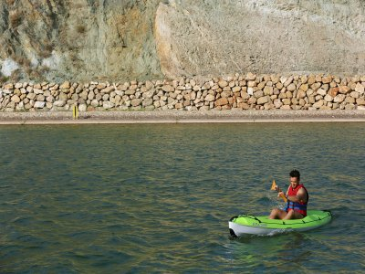 1h Kayak Rental Remo Canal, 1 or 2 People