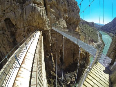 3h Guided Hiking Tour Caminito del Rey w. Transp.