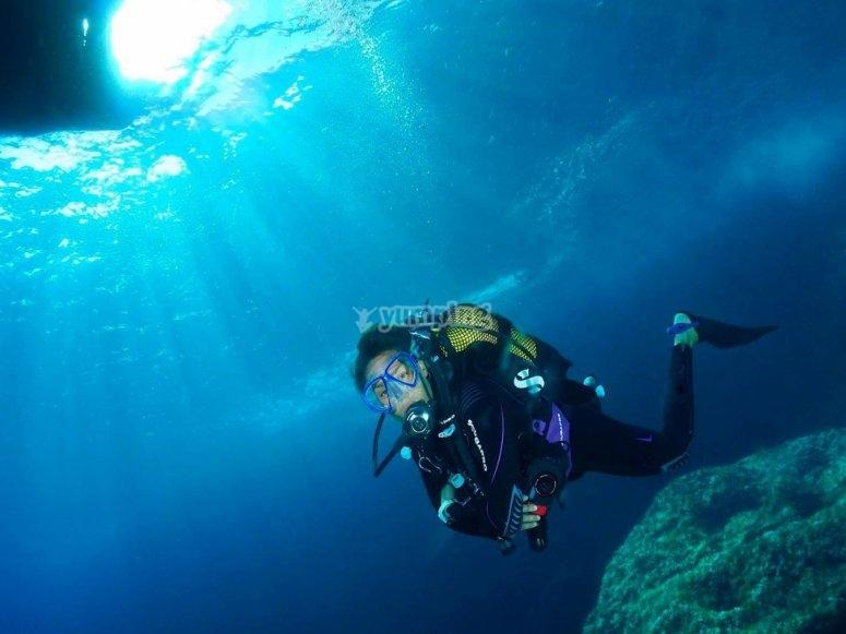Inmersion durante el Advance