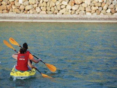 Classe di iniziazione in kayak Cuevas de Almanzora 1h