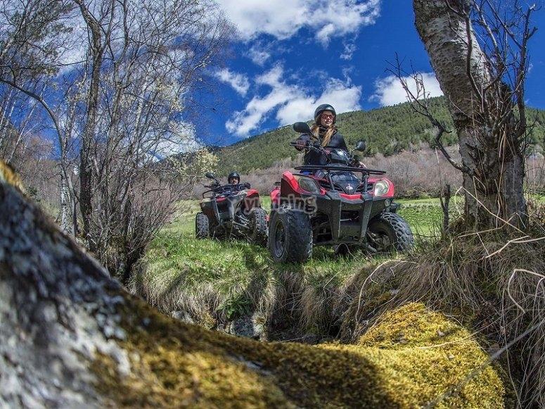 Recorriendo Andorra en quad