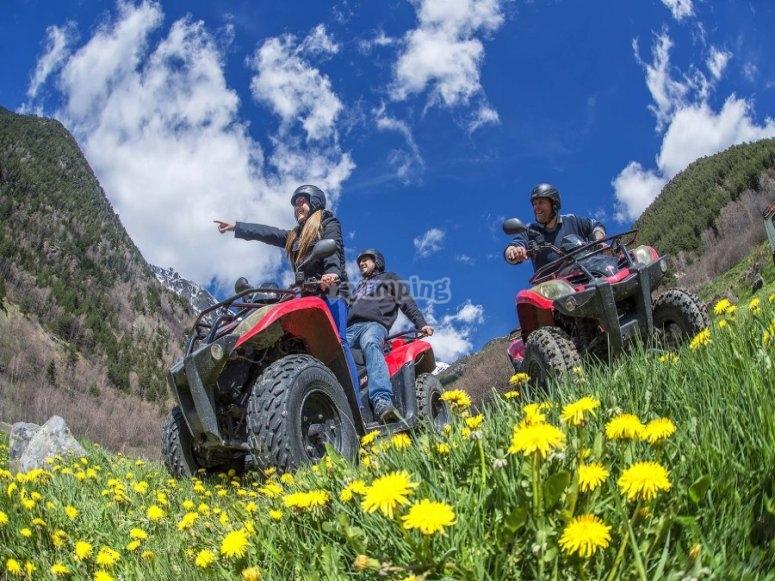 Ruta en quad por montañas andorranas