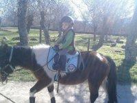 primer paseo a caballo