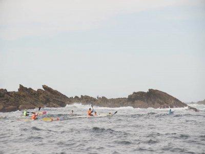 Kayak nella palude Ullibarri-Gamboa ad Álava 1 ora