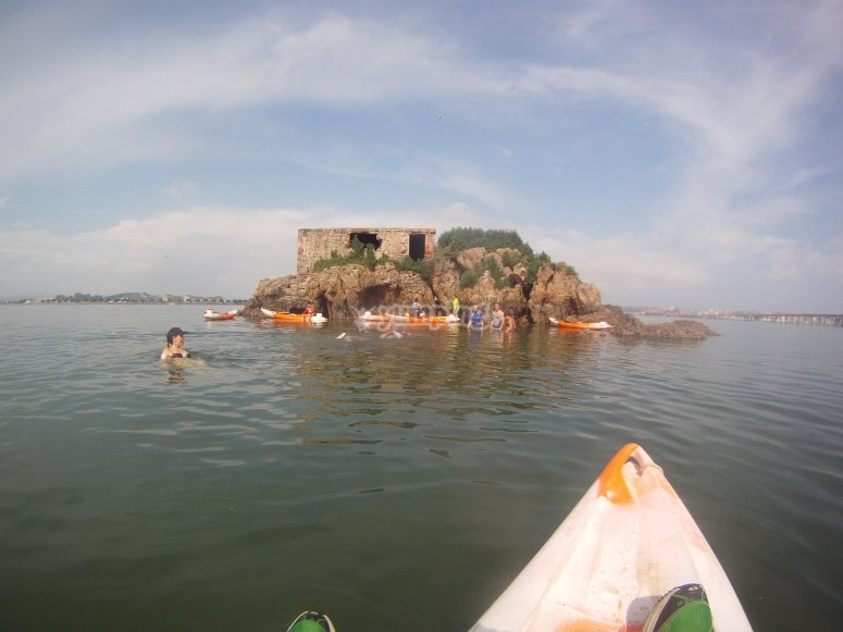 Watching the islet