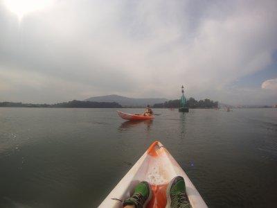 Alquiler kayak bahía de Santander 3 horas