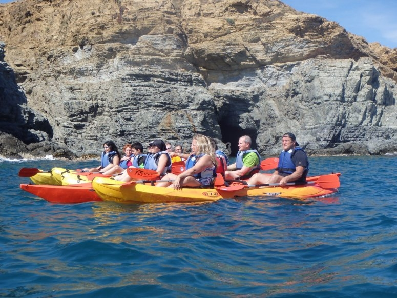 The instructor will provide a great kayak route