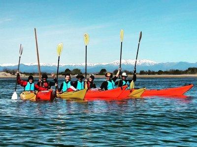2h Family Kayak Route, San Pedro Pescador