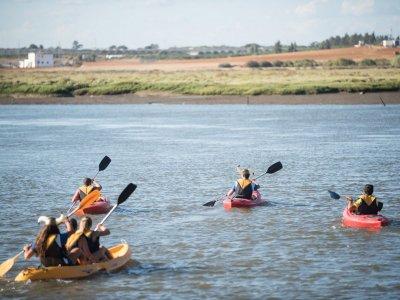 Ruta en kayak por las marismas de Isla Cristina 1h