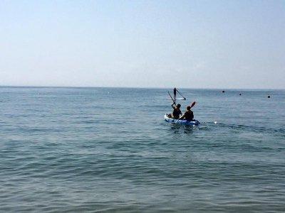 Paseo en kayak de Isla Cristina a Palomar 2 horas