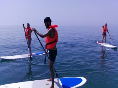 Paddle surf en playa Carvajal, Benalmádena, 1h
