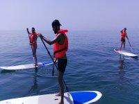 Paddle surf en playa Carvajal, Benalmádena, 1h