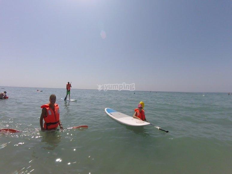 划桨冲浪队