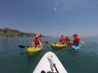 Kayak, paddle surf, big SUP y volley, Benalmádena