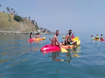 2h Kayak Route in Carvajal Beach, Benalmádena