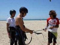 塔里法的风筝冲浪课程,2天6小时