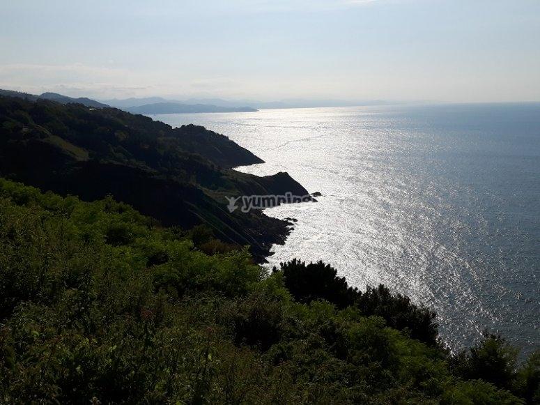 Vistas de la costa