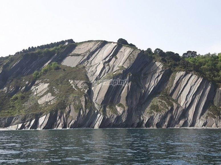 从船上悬崖