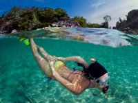 Snorkeling dalla barca