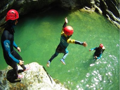 下坡峡谷塞拉瓜拉或比利牛斯山一级