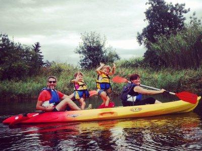 Ruta Kayak San Pedro Pescador tarifa infantil 2 h