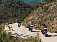 Ruta por el interior de Málaga en Scootter