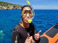 Port de Soller Mallorca 2h的浮潜游览