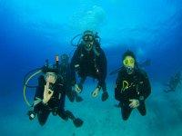 Primeras inmersiones en Tossa de Mar