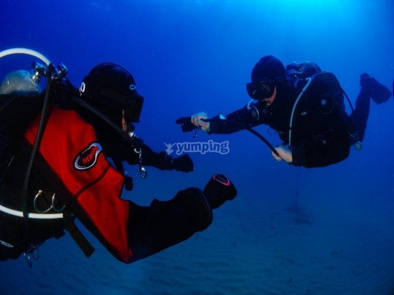 Explicaciones en mar abierto