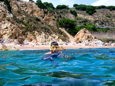 Ruta en lancha hasta Palamós con snorkel 4 h