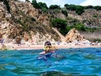 snorkel en cala