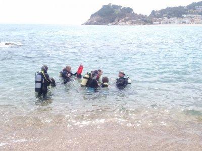 Scuba Diver SSI en Tossa de Mar