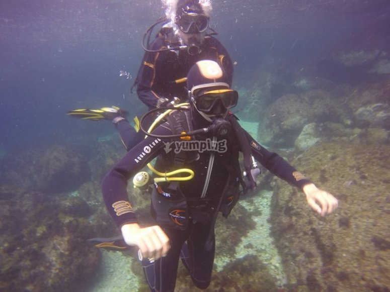 learning to dive autonomously