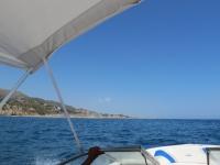 Barco desde Cala de Aiguafreda a las Islas Medas