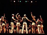 representacion de baile