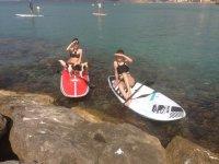 Alquilar tabla de paddle surf en Calpe 1 hora