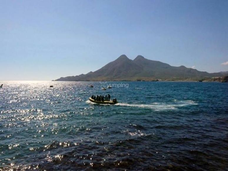 Bautismo en Cabo de Gata