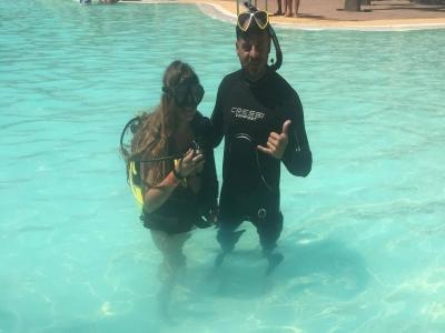 Bautismo Discover Scuba Diver PADI Cabo de Gata 2h