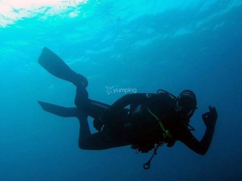 Aprender autonomia bajo el mar