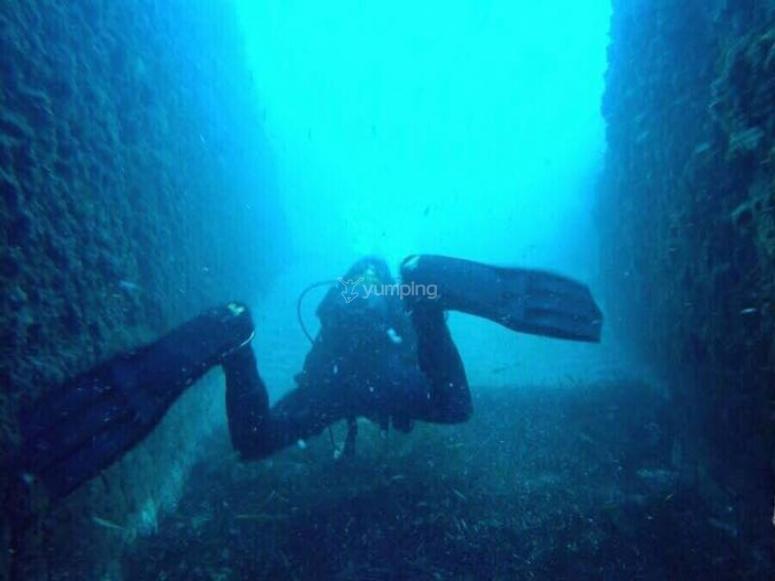 浸入度为-999的阿尔梅里亚省-浸入加波角(Cabo de Gata)的浸出