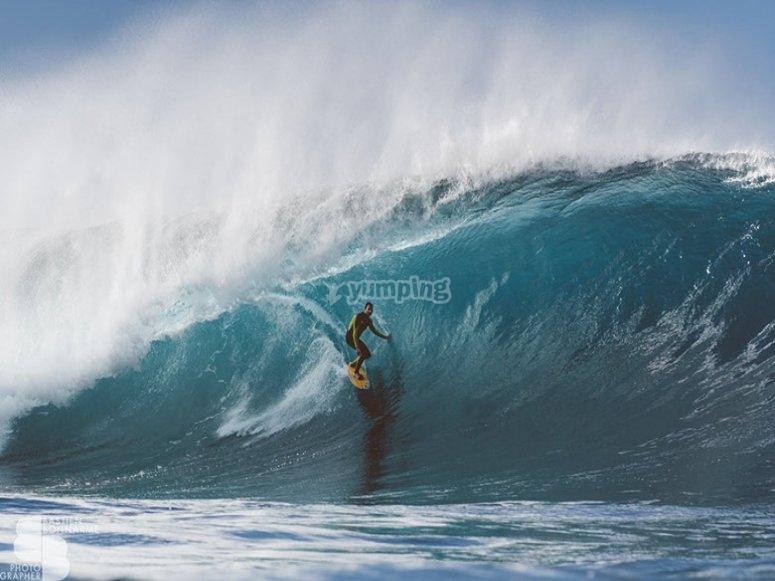 我们教冲浪作为一种生活方式