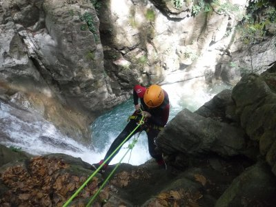 Canyoning for Full Day in El Saravillo
