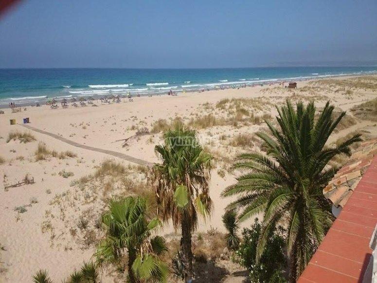Zahara de los Atunes海滩