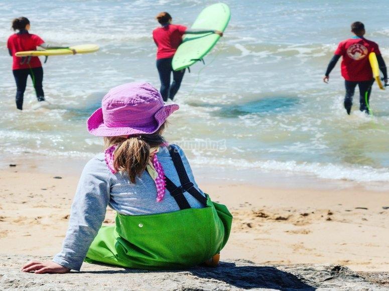 最好的海浪学习冲浪