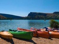 Kayaks en Segovia
