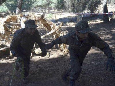 Campamento orientación militar La Adrada 15 días