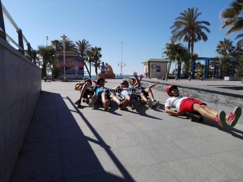 Urban skatebaording